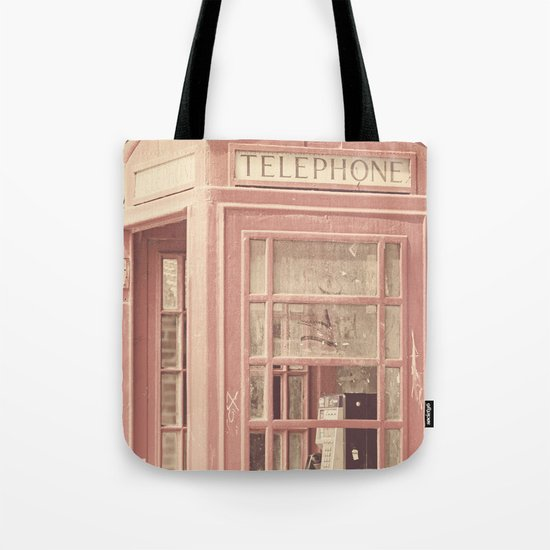 London is calling my name Tote Bag