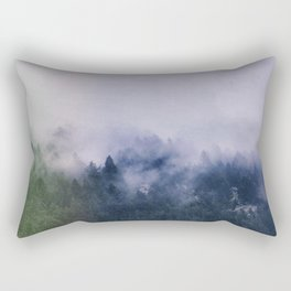 Forest Cump At Autumn Rectangular Pillow