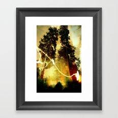 Fire Keeper Soul Framed Art Print