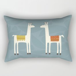 Everyone lloves a llama Rectangular Pillow