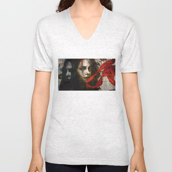 it's all in my head Unisex V-Neck