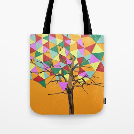 Treeangle Tote Bag