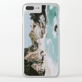 big sur / california Clear iPhone Case