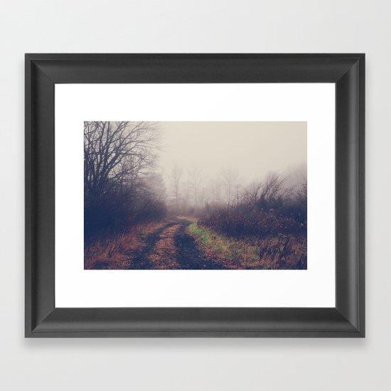 lead me on Framed Art Print