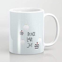 Peace Love Joy Coffee Mug