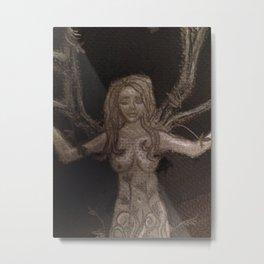 The Creation of Women (detail) Metal Print