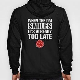 When Dungeon Smiles Critical DND Unisex Shirt D20 Failure Dice Hoody