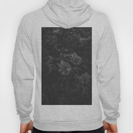 Floral (Black and White) Hoody