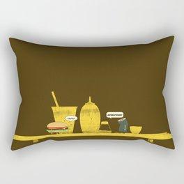On Board Rectangular Pillow
