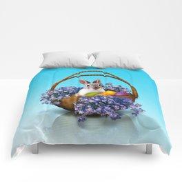 Easter Bunny Basket Comforters