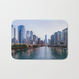 Chicago River Bath Mat
