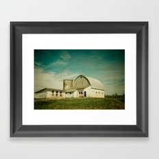 Route 661 Barn Framed Art Print