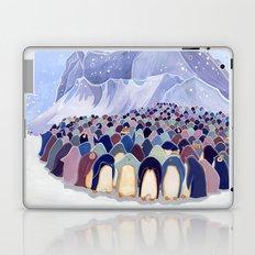 Huddling Penguins Laptop & iPad Skin