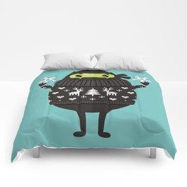 NINJACADO IN HOLIDAY SWEATER Comforters