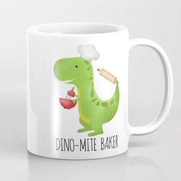 Dino-mite Baker Coffee Mug