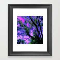 As The Wounded Willows Weep Framed Art Print