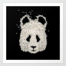 Ricebear Art Print
