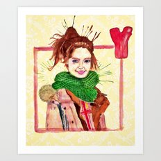 Yoona Art Print
