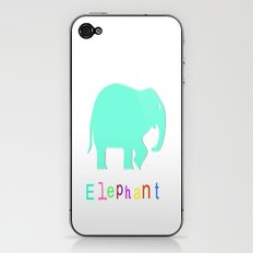 Elephant- iPhone & iPod Skin