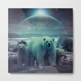 The Queen of the North Pole v.3 Metal Print