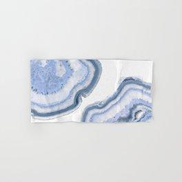 Airy Blue Agate Hand & Bath Towel