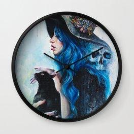 Blue Valentine Wall Clock