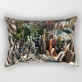 Abstract Topography - Vienna Rectangular Pillow