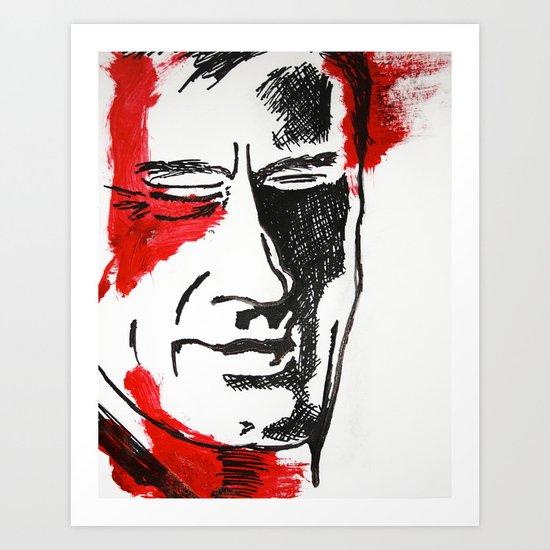Redress Art Print