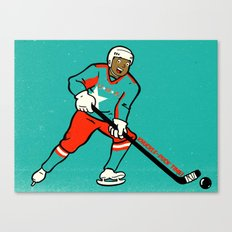Knuckle-Puck Canvas Print