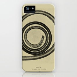Butterfly Tongue iPhone Case