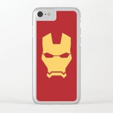 Iron man superhero Clear iPhone Case
