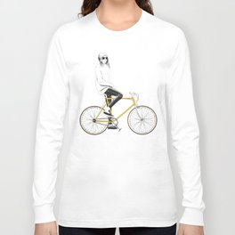 The Yellow Bike Long Sleeve T-shirt