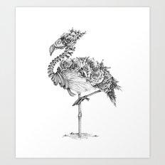 Panacea (Black and White Version) Art Print