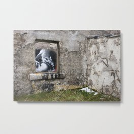 Moine House Metal Print