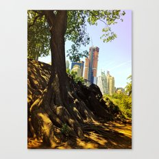 Roots of the Big Apple Canvas Print
