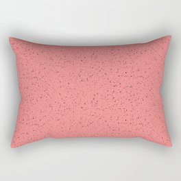 Salmon rubber flooring Rectangular Pillow