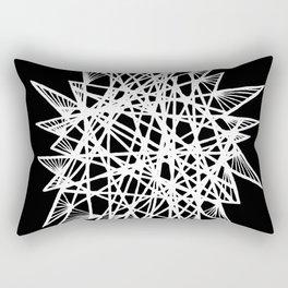 See-Through Star Negative Rectangular Pillow