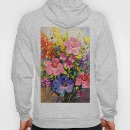 A bouquet of meadow flowers Hoody