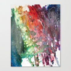 Rainbow Galaxy Canvas Print
