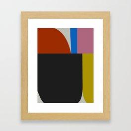 Mid Century Modern Vintage 12 Framed Art Print