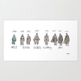 Batmans Art Print