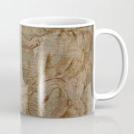 Peter Paul Rubens - Minerva fighting Mars Coffee Mug