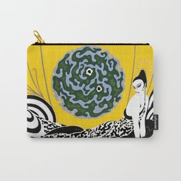 """Art Deco Design """"Selection of the Heart"""" Carry-All Pouch"""