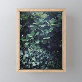 Garden Lights Framed Mini Art Print