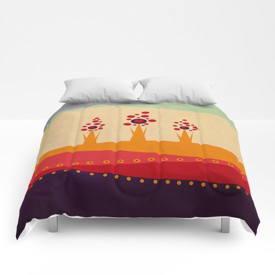 Color/Landscape 2 Comforters