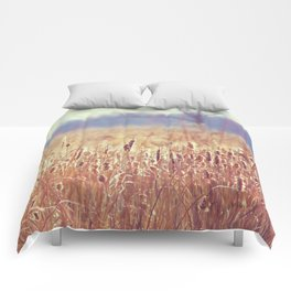 A Glow in the Cattails  Comforters