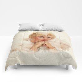 Doris Day - Watercolor Comforters