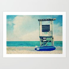 In the Summertime Art Print