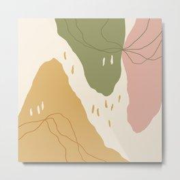 Mountain Valleys Metal Print