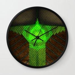 Enchanted Elf Ranger Fantasy Armor Costume Wall Clock